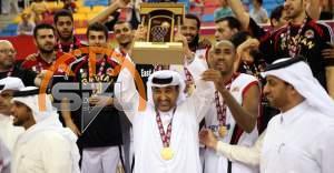 الريان يتوج بطلاً لدوري السلة القطري