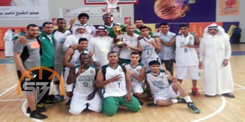 أخضر السلة يحصد كأس الخليج للشباب وفضية الكبار