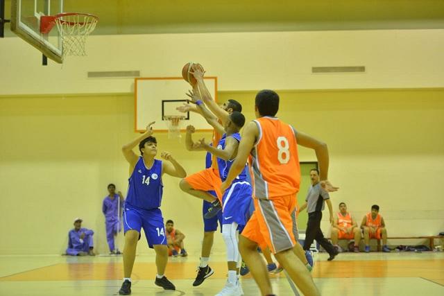 مباراة الهلال ومضر دوري الشباب لكرة السلة .. تصوير : حسين السودان