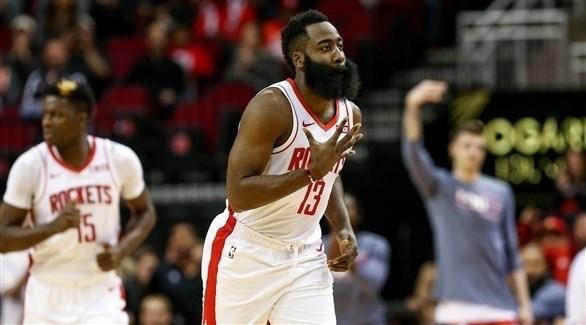 دوري السلة الأمريكي : هاردن يقود روكتس لفوز مثير على كليبرز