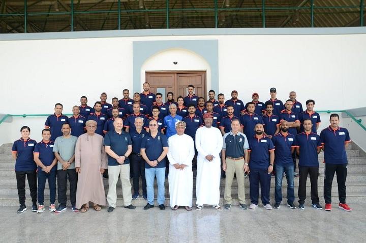 حكام سعوديون في المعسكر الدولي في عمان لكرة السلة