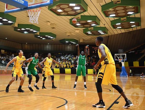 الأهلي يوقف انتصارات الاتحاد في دوري السلة