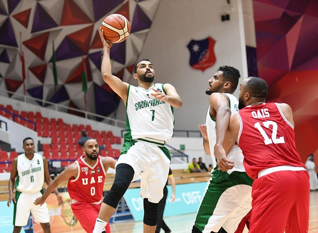 أخضر السلة يفوز على الامارات ويواجه قطر غداً