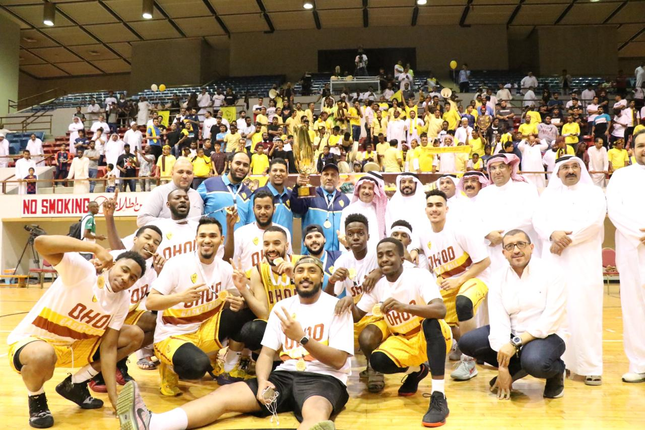 المسعد يتوج أحد بالسوبر السعودي لكرة السلة على كأس الهيئة العامة للرياضة