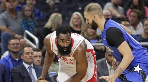 دوري السلة الأمريكي: هاردن يقود روكتس لتجاوز ماجيك