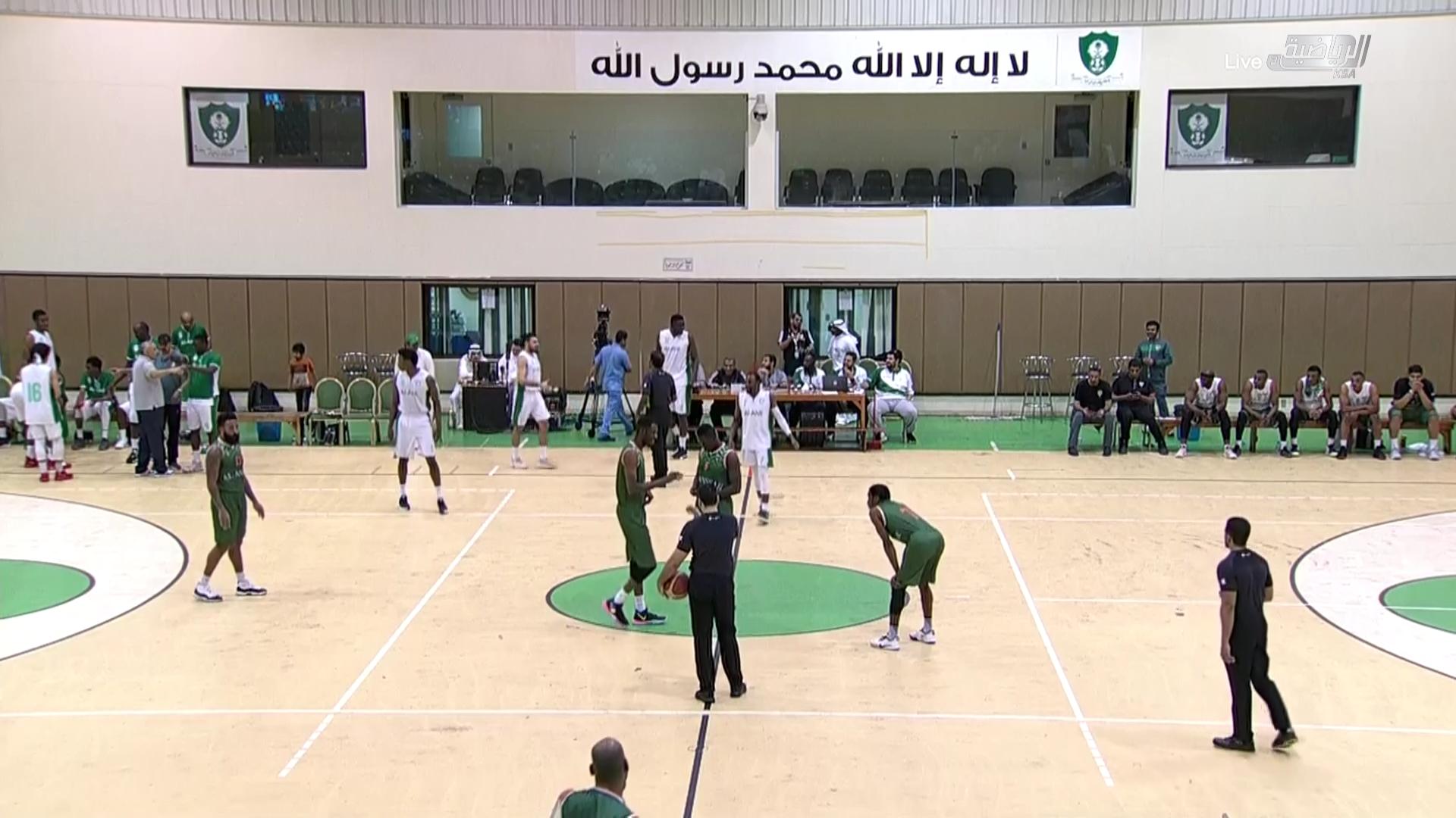 مباراة ( الاهلي و الانصار ) الدوري الممتاز لكرة السلة الجولة العاشرة