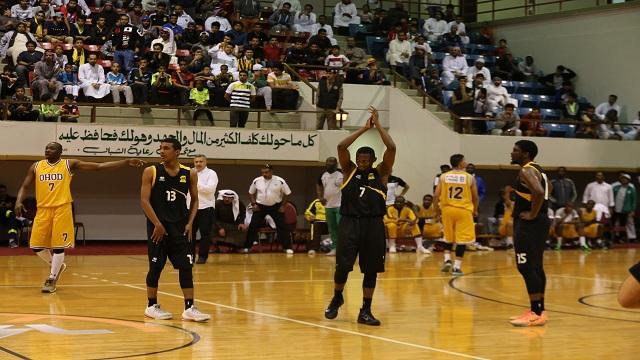 كلاسيكو الدوري السعودي لكرة السلة الاحدي الاتحادي بعدسة SBL