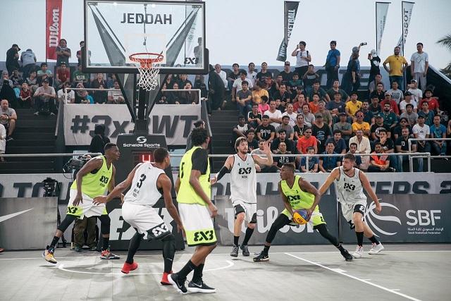 بالصور .. بحضور الأمير عبدالعزيز بن تركي الفيصل .. انطلاق جولة العالم لكرة السلة 3×3 في جدة