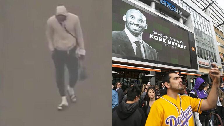 ليبرون جيمس ينهار باكيا ومشاهد مؤثرة لنجوم الـ NBA بعد مصرع أسطورة السلة