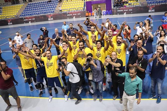 الجزيرة يهزم الزمالك ويتوج بطلاً لكأس السوبر المصري لكرة السلة