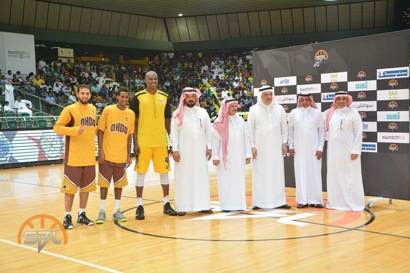 شركة كرة السلة السعودية تكرم ابطالنا في خليجي ( 3×3)