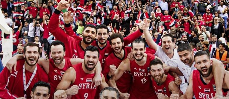 بعد شوط إضافي  ..  سوريا تتغلب على صقور السلة