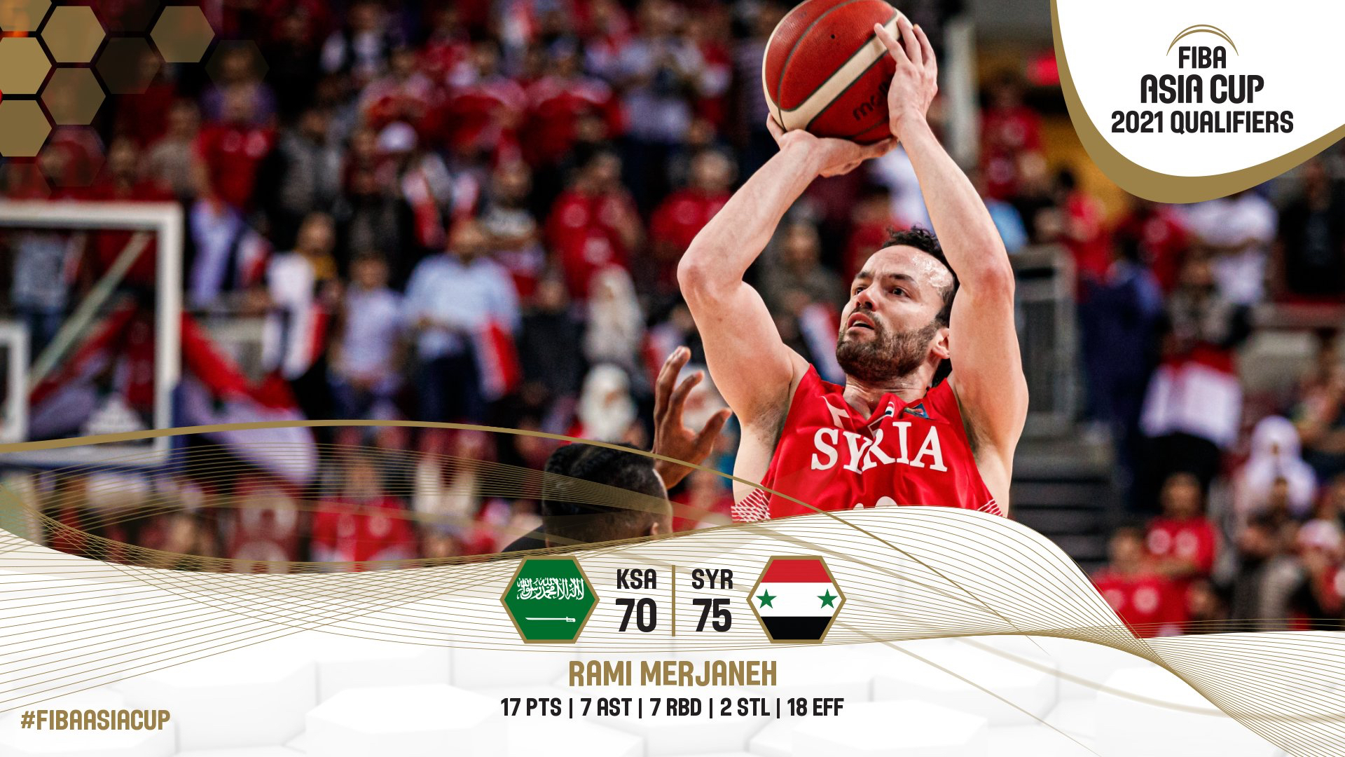 ملخص مباراة المنتخب السوري مع المنتخب السعودي في تصفيات آسيا لكرة السلة 2021