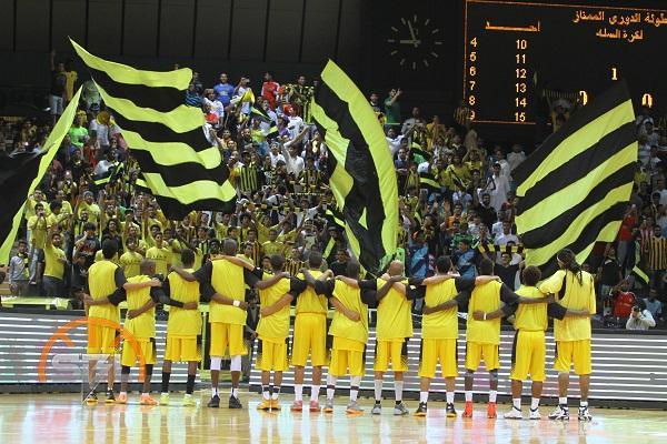 الاتحاد لازال (متصدر)الحضور الجماهيري في دوري SBL