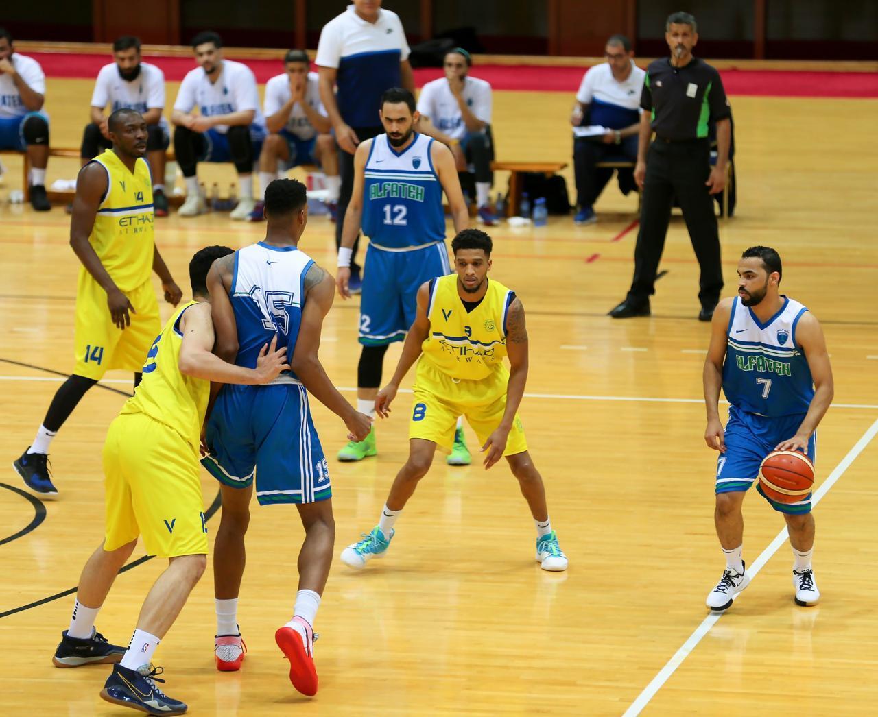 خمس مباريات غداً في الجولة الأخيرة للدوري الممتاز لكرة السلة