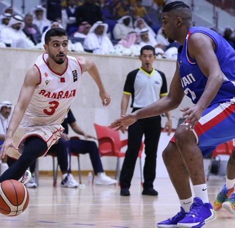 سلة البحرين تخسر من الكويت وتتأهل لنصف نهائي الخليجي